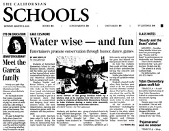 The California Schools - Water wise - and fun