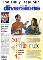 South of the Border Music. Article in the Daily Republic. July 9, 2004